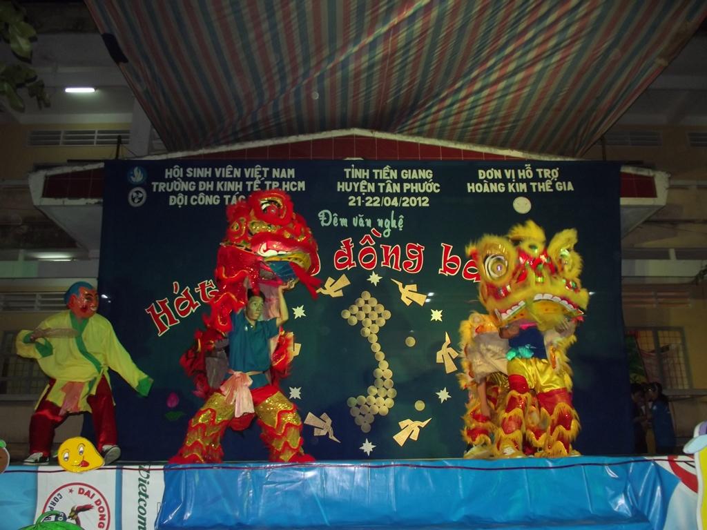[Phóng sự] Công tác tháng 4 Tân Phước, Tiền Giang - 21,22/4/2012